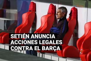 Nuevo problema en el Barça: Setién comunicó que tomará acciones legales contra el club