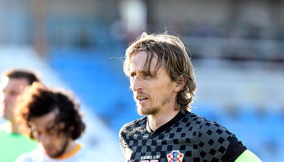Modric renovó con el Real Madrid antes de empezar la Eurocopa. (Getty)