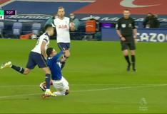 James Rodríguez provocó el penal para el 1-1 de Everton vs. Tottenham [VIDEO]