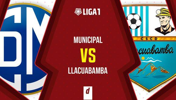 D. Municipal vs. D. Llacuabamba se miden por la fecha 8 de la Fase 2 (Diseño:DEPOR)