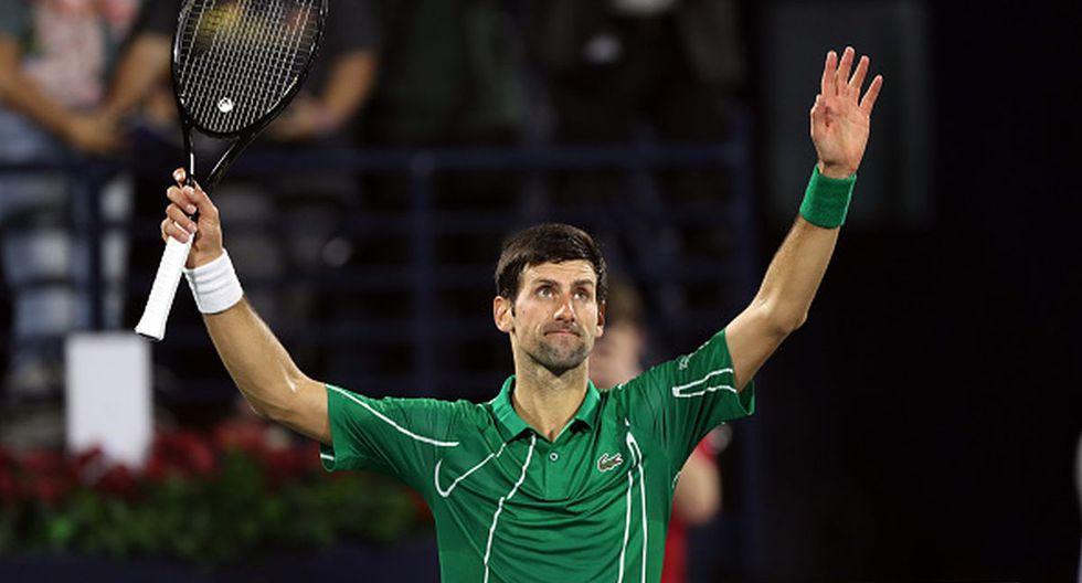 Djokovic es el actual líder del ranking ATP. (Foto: Getty Images)