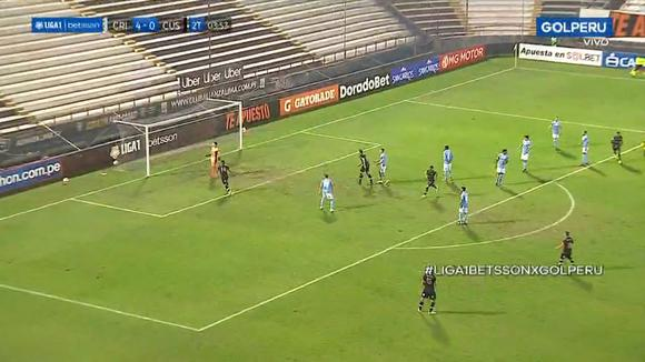 Sporting Cristal 4-1 Cusco FC: gol de Matías Abisab. (Video: Gol Perú)