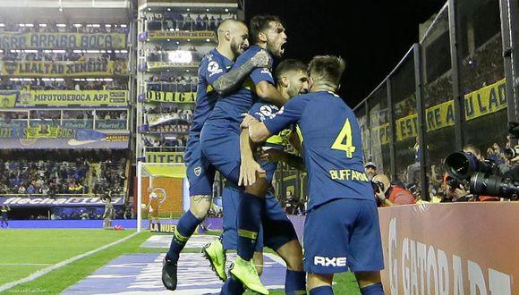 Boca Juniors venció 1-0 a Argentinos y está en la final de la Copa de la Superliga. (Twitter)