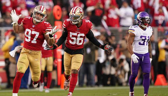 Los San Francisco 49ers derrotaron a los Minnesota Vikings por 27-10. (Getty Images)