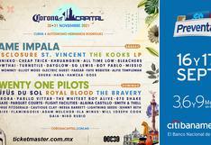 Corona Capital 2021 en CDMX: preventa de entradas, fecha y cómo ir al concierto