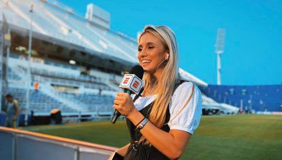 Morena Beltrán dirá presente en el II Programa Internacional de Periodismo Deportivo (Foto:DIFUSIÓN)