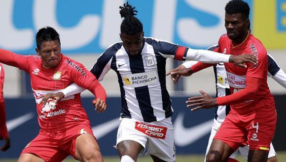 Alianza Lima vs. Sport Huancayo se enfrentaron en el Estadio Nacional. (Foto: Liga 1)