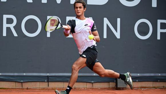 Juan Pablo Varillas sumó su primera victoria en un ATP 500 en Hamburgo. (ATP)