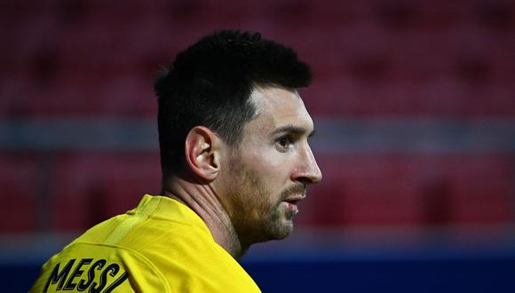 Lionel Messi se perderá el partido de Barcelona en Champions League. (Foto: AFP)
