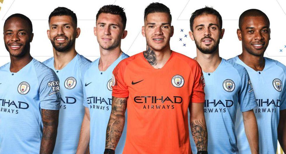 Jugadores del Manchester City en el Team of the Season