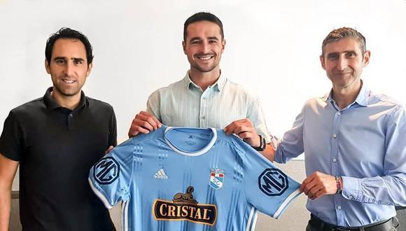 Alejandro González envió un mensaje a los hinchas celestes. (Foto: Sporting Cristal)