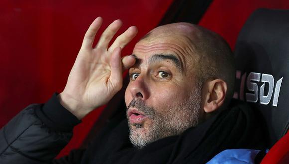 Pep Guardiola tiene contrato con Manchester City hasta mediados de 2021. (Foto: Getty)