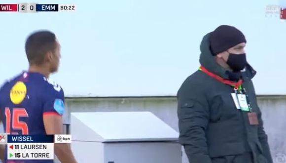 Didier La Torre fue formado en las canteras de Alianza Lima. (Foto: Captura de TV)