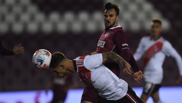 River goleó 3-0 a Lanús por la fecha 3 de la Liga Profesional. (Foto: River Plate)