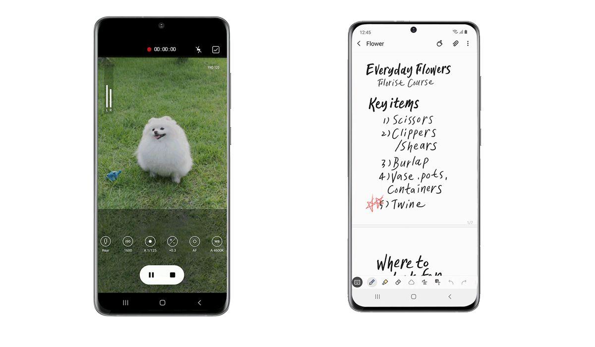 Entre algunas novedades se encuentra el video y el nuevo sistema de grabación. (Foto: Samsung)