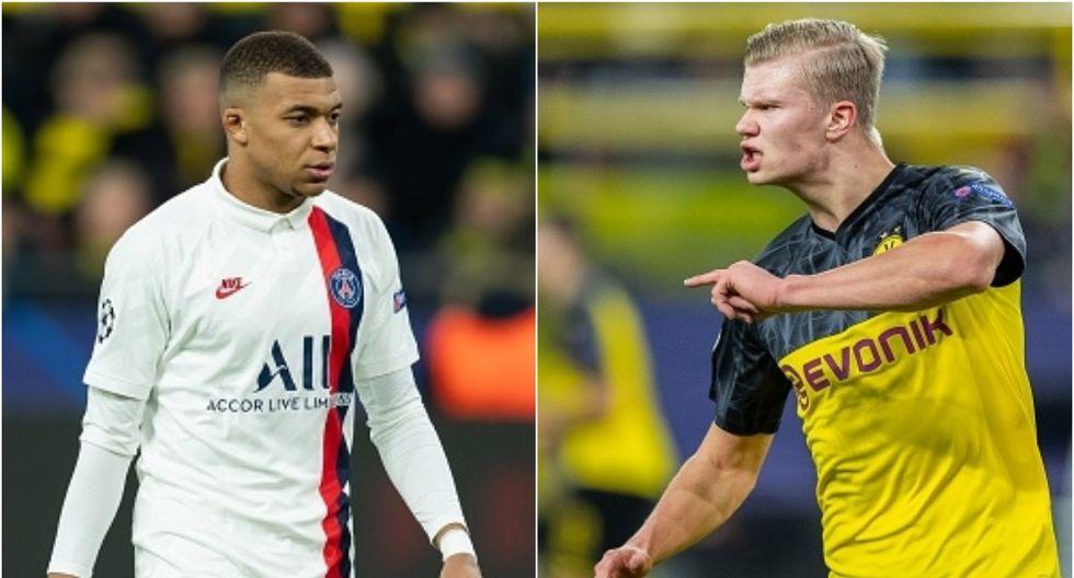 Haaland llegó al Dortmund desde el Salzburgo en el mercado de invierno 2020. (Getty)
