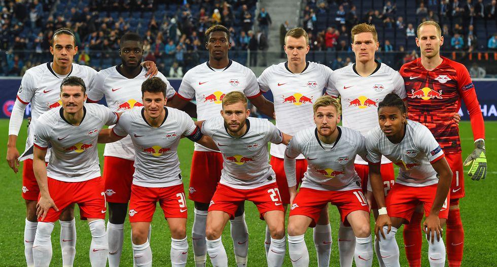Red Bull Leipzig con 29 Jugadores en el plantel cuesta 642.28 Millones de dólares (Foto: AFP)