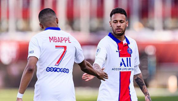 Neymar llegó a PSG en 2017 desde Barcelona por 222 millones de euros. (Getty)