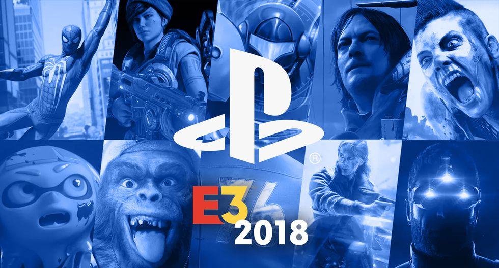 Sony con PlayStation en la E3 2018 (Foto: Montaje)
