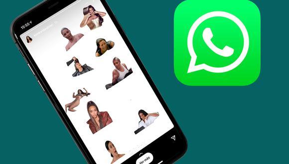 Tenlos en tu celular: Ya puedes descargar el pack oficial de stickers de Kim Kardashian para WhatsApp. (Foto: Depor)