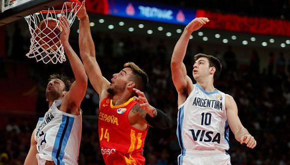 Argentina perdió ante España por 95-75 en la final del Mundial de Básquet 2019. (Getty Images)