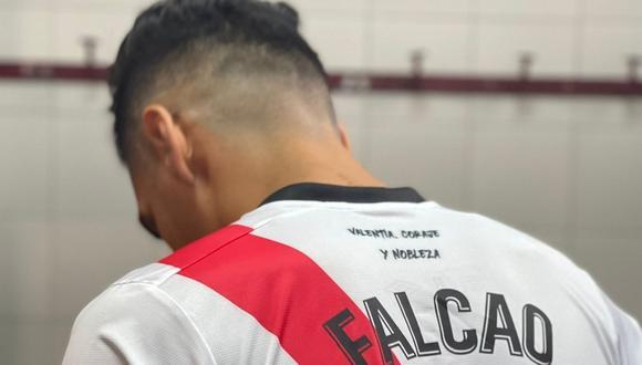 Hora, fecha y canales del debut de Radamel Falcao en Rayo Vallecano. (Rayo Vallecano)