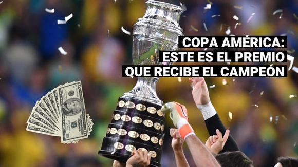 ¿Cuánto dinero gana el campeón de la Copa América 2021?