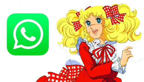 ¡Ya llegaron los stickers de 'Candy Candy' a WhatsApp! Así puedes obtenerlos. (Foto: Toei)