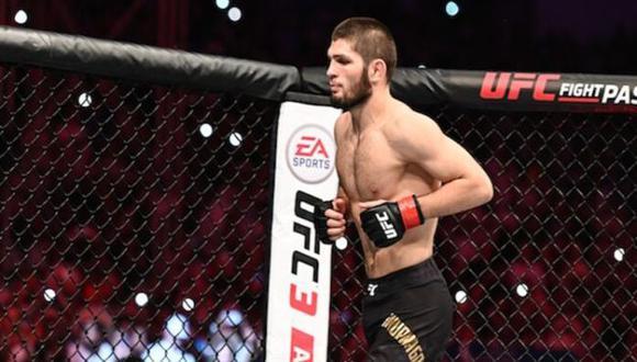 Khabib Nurmagomedov regresaría a UFC para estirar su invicto a 30-0. (Reuters)