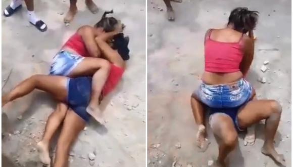 Amante furiosa buscó pelea con la esposa y terminó peleando a puño limpio con la nuera. (Foto: @SantamartaAD / Twitter)