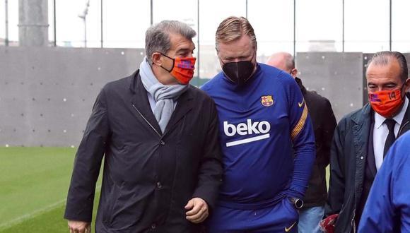 Joan Laporta dejó fuera de la institución a dos elementos. (Foto: FC Barcelona)