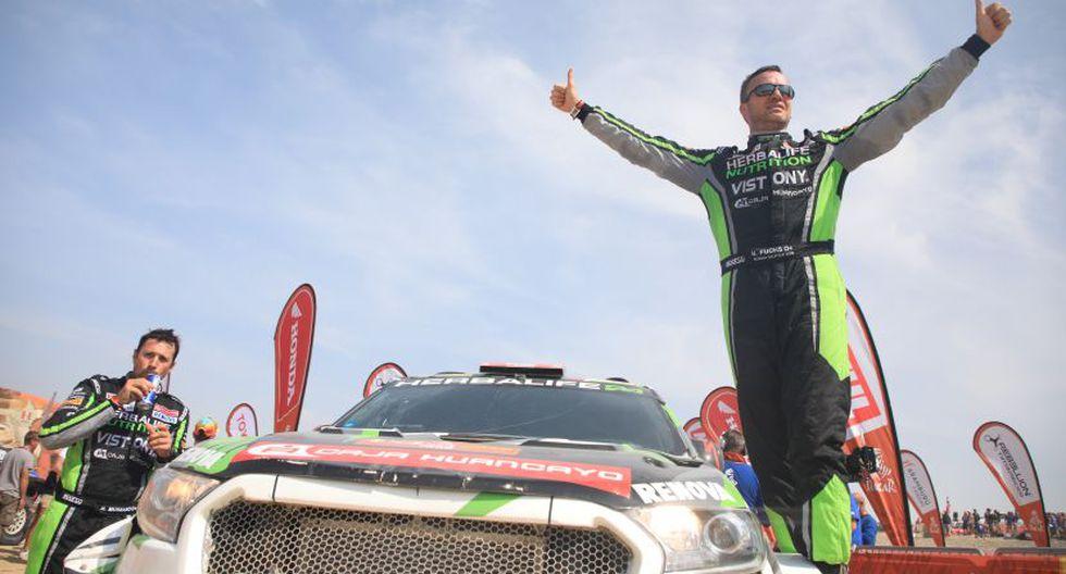 Nicolás Fuchs corrió por tercera vez el Rally Dakar. (ITEA Photo)