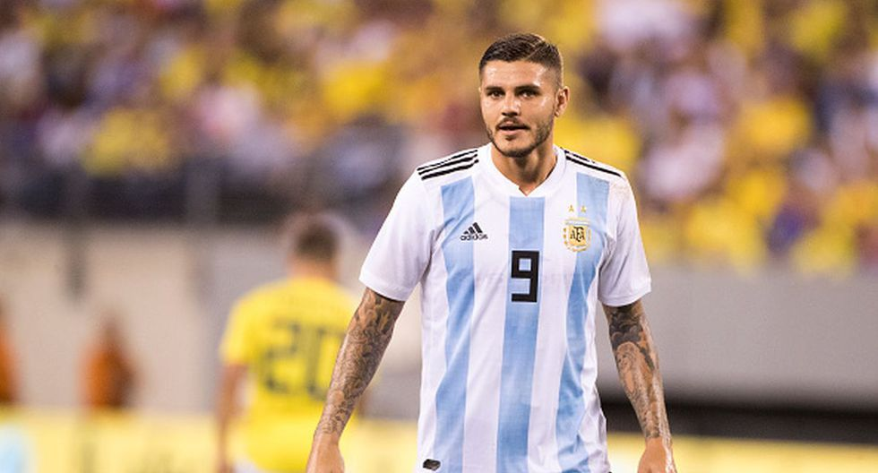 Mauro Icardi  – Argentina. (Foto: Getty Images)