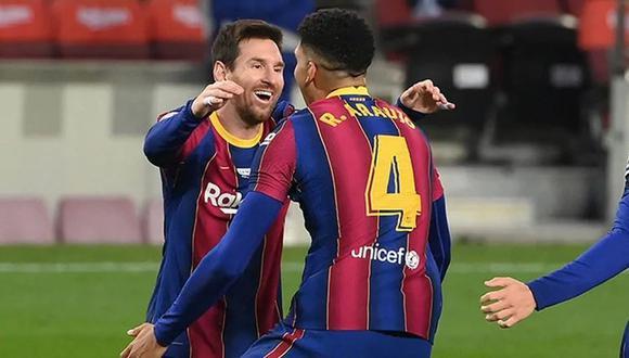 Ronald Araujo puso el 4-2 de Barcelona vs. Getafe por LaLiga. (Fuente: Agencias)