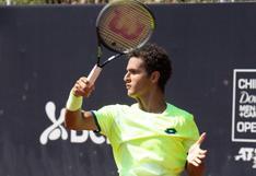 Lleva cuatro al hilo: Varillas venció al portugués Sousa y avanzó a la segunda ronda del ATP de Santiago