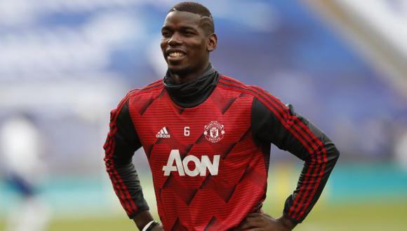 Paul Pogba acaba contrato con el Manchester United en el 2021. (Foto: AFP)