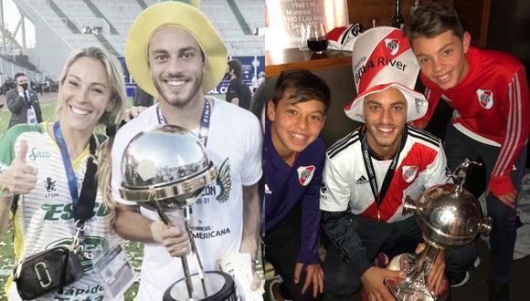 Nahuel Gallardo ha ganado siete títulos con tan solo 18 partidos como profesional. (Fotos: Twitter)