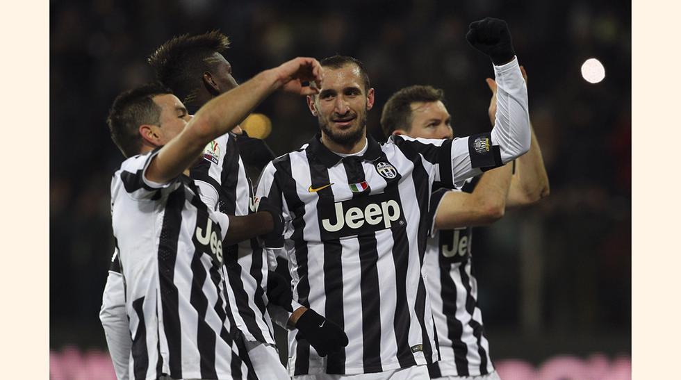 El último 11 de la Juventus que jugó Europa League. (Fotos: Agencias)