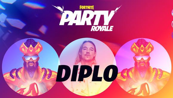 Fortnite: concierto completo de Diplo en el Battle Royale. (Foto: Epic Games)