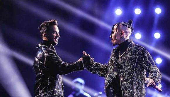 """Luis Fonsi y Rauw Alejandro se unieron para estrenar """"Vacío"""". (Foto: @luisfonsi)"""
