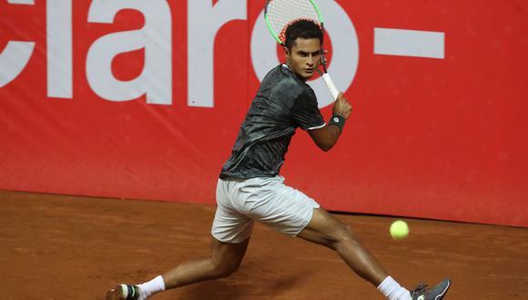 Juan Pablo Varillas se ubica puesto 157 de la ATP. (Foto: GEC)