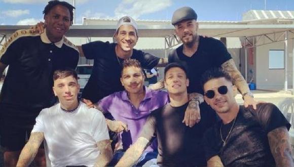 Paolo Guerrero  le dedicó un mensaje a Andrés D'Alessandro. (Foto: Instagram)