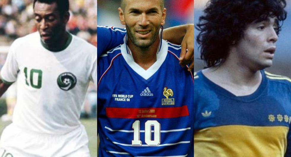 Las 20 camisetas más míticas de la historia según France Football. (Foto: Internet)