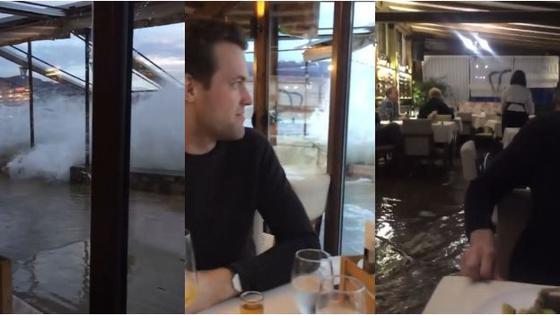noche-para-el-olvido-pareja-vivio-pesadilla-en-cena-romantica-tras-inundacion-del-local-cerca-a-lago-video