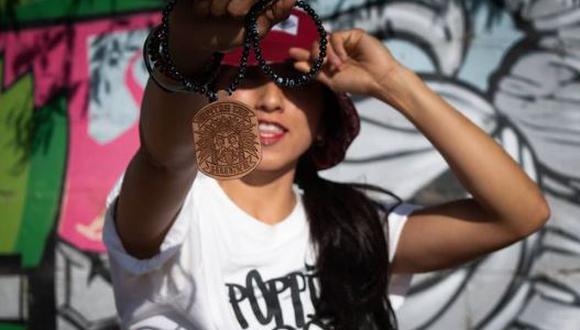 """Ella es Lolo Roho, la nueva integrante del equipo de los Leones en """"Guerreros 2021"""" (Foto: Instagram)"""