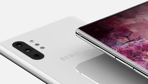 Samsung Galaxy Note 10 (Referencial)