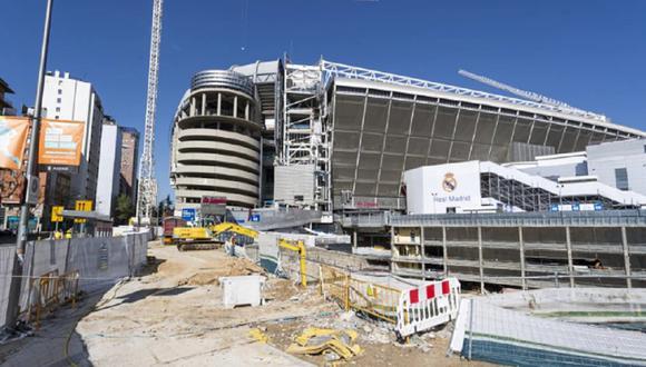 Las obras en el Santiago Bernabéu se retomaron el pasado martes. (Foto: As)