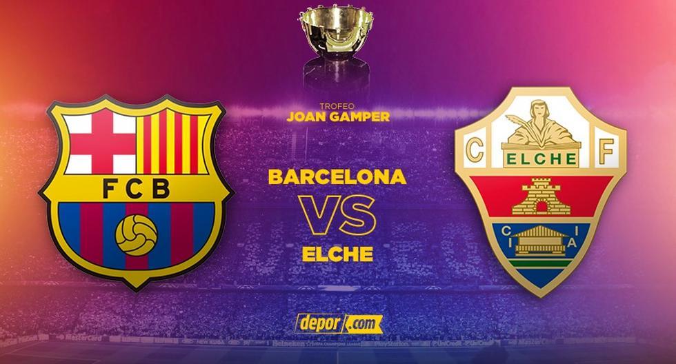 España: Barcelona vs. Elche EN VIVO: fecha, horarios y canales EN DIRECTO ONLI | NOTICIAS DEPOR PERÚ