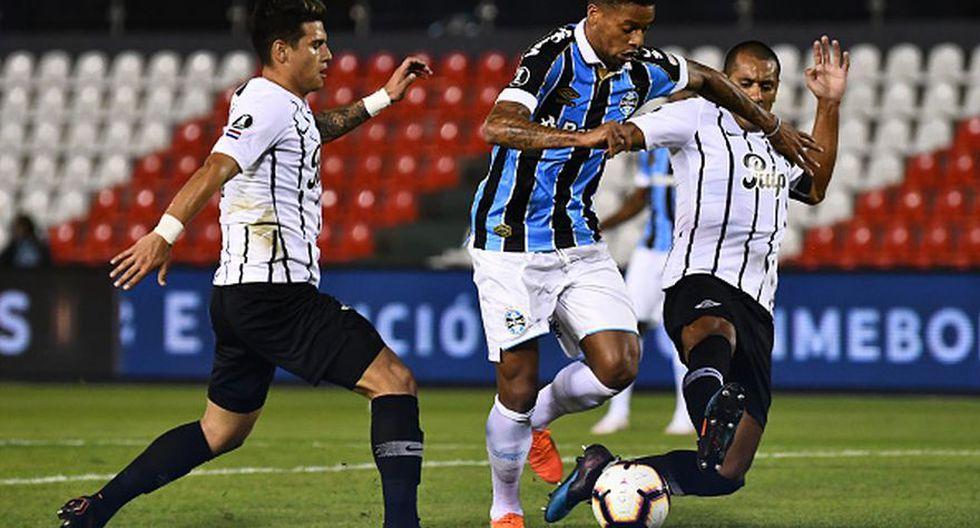 Gremio goleó a Libertad y avanzó a la siguiente fase de Copa Libertadores 2019. (Getty)