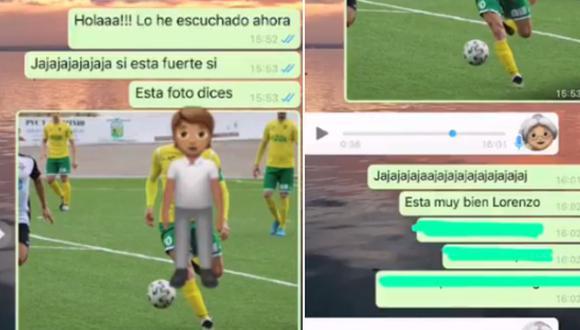 Una abuela tuvo una hilarante reacción al ver las fotos del novio futbolista de su nieta. (Foto: @Maria28mb / Twitter)